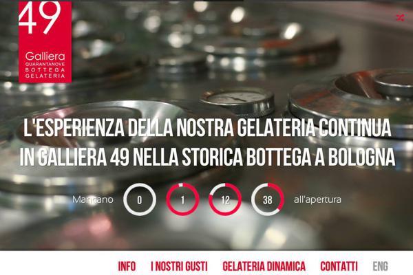 Countdown Galliera 49 bottega gelateria Bologna