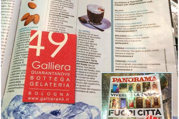 Panorama, le 10 migliori granite d'Italia Galliera 49 bottega gelateria Bologna