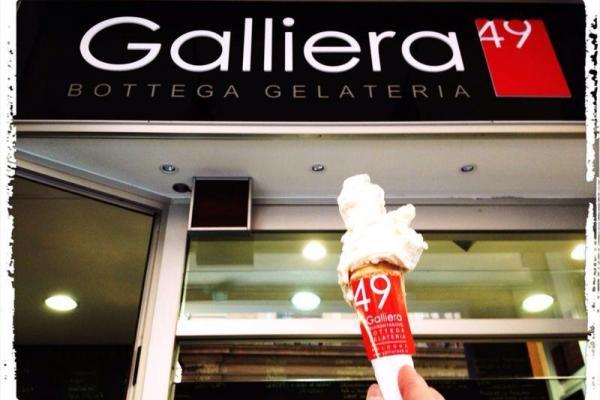 Gelato di Torrone Galliera 49 bottega gelateria Bologna